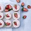 Cupcakes med jordbærfrosting