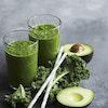 Greenie med avocado og grønkål