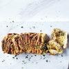 Krydret brydebrød med cheddar og mozzarella