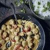 Panang curry med kyllingekødboller