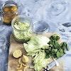 Sauerkraut – hjemmelavet surkål med citron og mynte